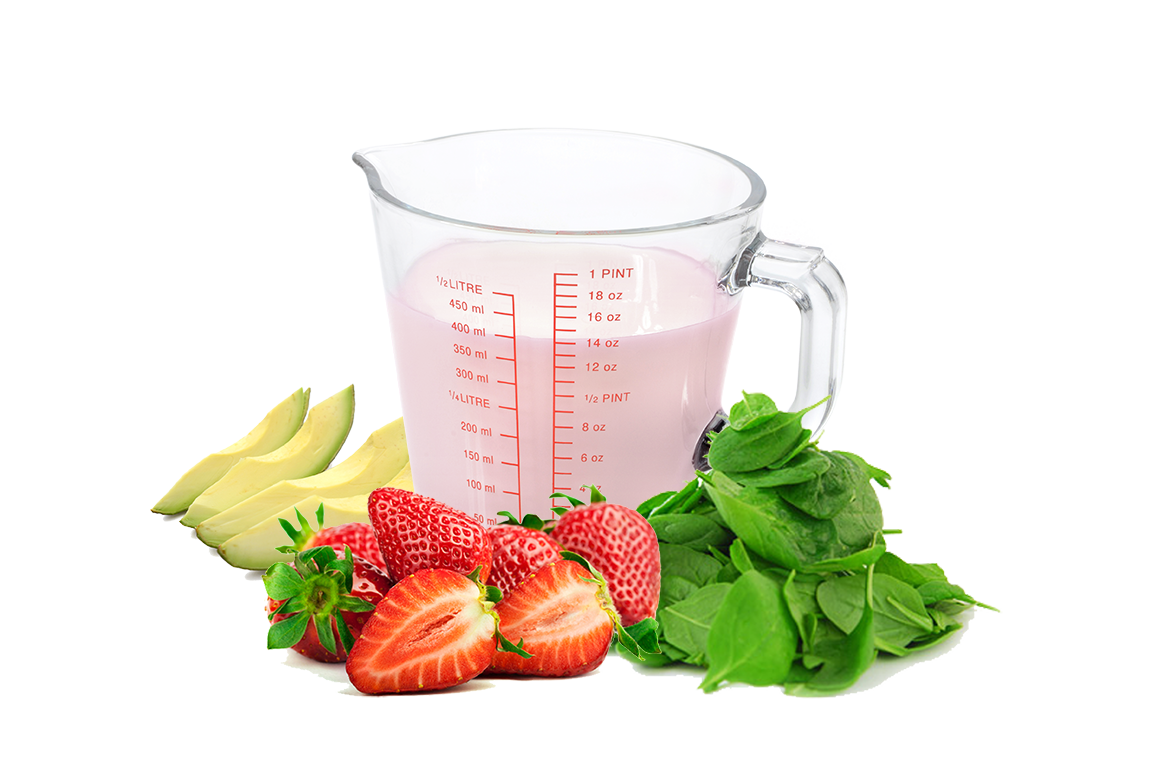 Compleat Spinach and Strawberries with Avocado Recipe